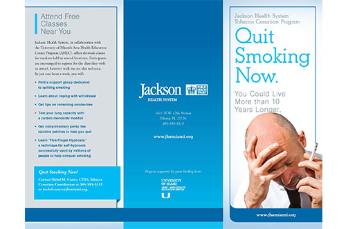 Brochure: Smoking Cessation Program