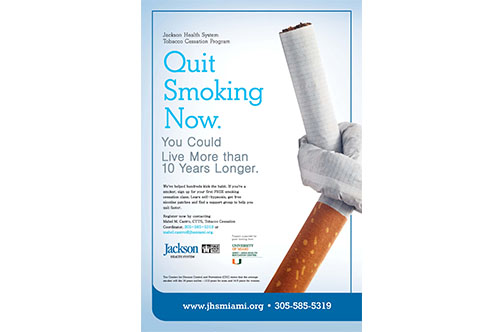 Flyers: Smoking Cessation Program